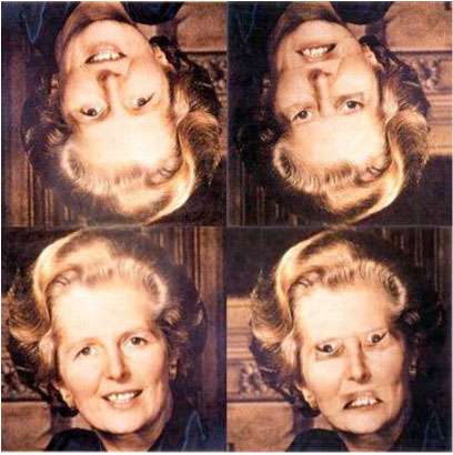 thatcher illusion